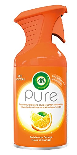Air Wick Premium Spray, Pure belebende Orange, Lot de 3 (3 x 250 ml)