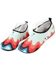 Erwachsene Strand Tauchen Schuhe rutschfeste Tretmühle Schuhe Bademode Romantische Aquarell