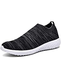 b8dc534acf0 TIOSEBON Women s Athletic Lightweight Casual Mesh Walking Shoes -  Breathable Running Sneakers