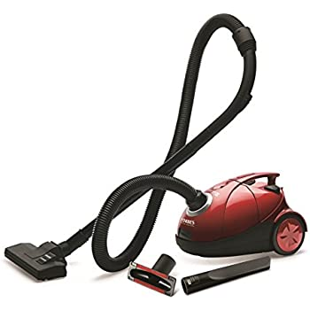 Eureka Forbes Quick Clean DX 1200 Watt Vacuum Cleaner Red With Free Dust