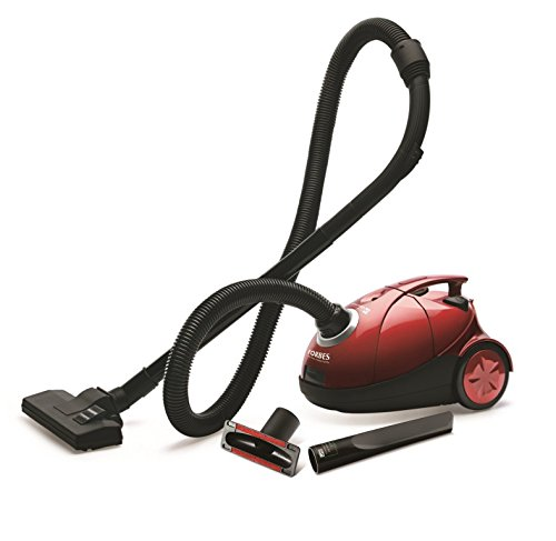 Eureka Forbes Quick Clean DX 1200-Watt Vacuum Cleaner (Red) with...