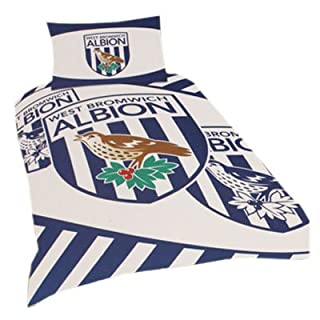 SINGLE BED WEST BROMWICH ALBION DUVET SET