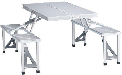 Camping/Picknick Klapptisch Aluminium Camping 136x 86,5cm - Klick Schreibtisch