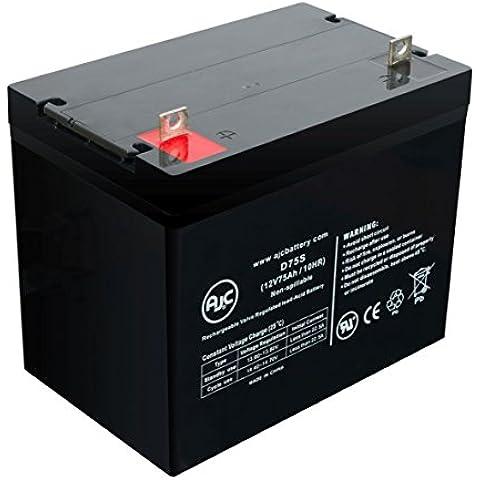 Batteria per Scooter elettrico Freerider FR1 12V 75Ah - Ricambio di marca AJC®