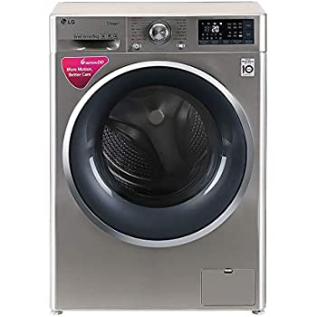 LG 8 kg Inverter Wi-Fi Fully-Automatic Front Loading Washing Machine (FHT1408SWS, STS-VCM)