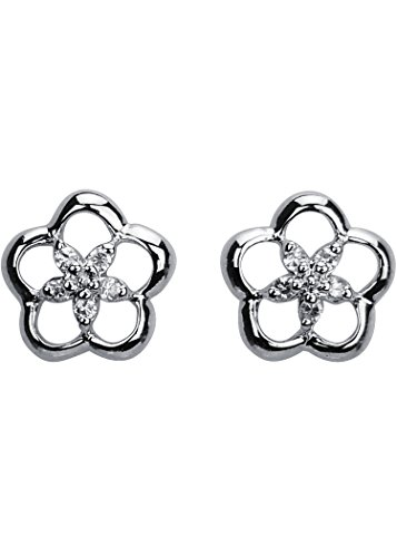 daily-yasmin-stud-earrings-flower-silver-and-white