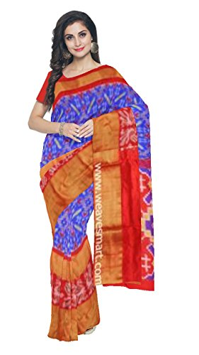 Weavesmart Pochampally Ikat Silk Saree