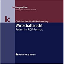 Wirtschaftsrecht. Version 4.0 / 2011 - CD-ROM. Folien im PDF-Format