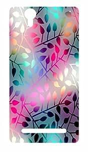 Go Hooked Designer Sony Xperia C3 Designer Back Cover | Sony Xperia C3 Printed Back Cover | Printed Soft Silicone Back Cover for Sony Xperia C3
