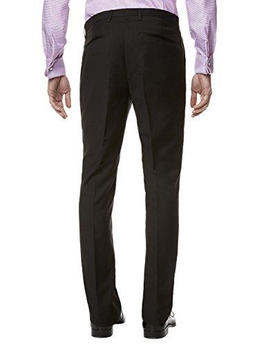 Celio - Pantalon de Costume - Uni - Homme Noir