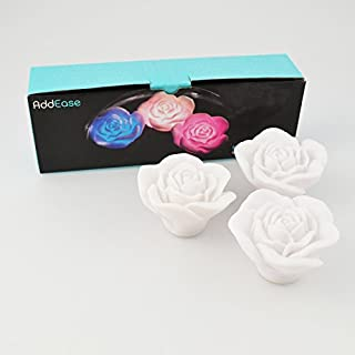 The Discovery Store LED-Badewannenlichter ROSE BATH GLOWS 3er Set