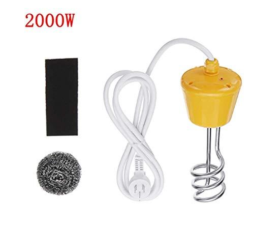 LWQ Tragbare Suspension Elektrische Wasserheizung, 2000W / 2500W Element Boiler für aufblasbares Pool Tub Reise-Camping,2000w