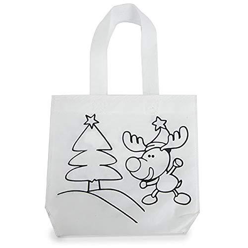 Navidad Bolsa Colorear Ceras diseño Christmas Pack