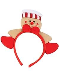 Gespout. 1PCS Diadema de Navidad Diadema de Jengibre Diadema de Navidad Diadema de Navidad Diadema de Navidad Size 22 * 23CM (#2)