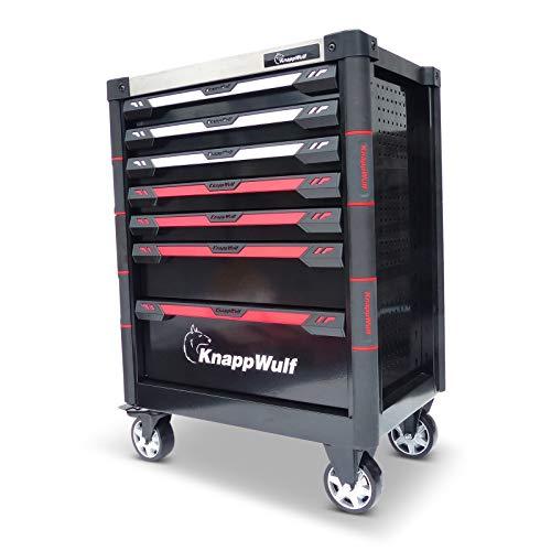 KnappWulf KW534 - Carro de herramientas para taller sin herramientas
