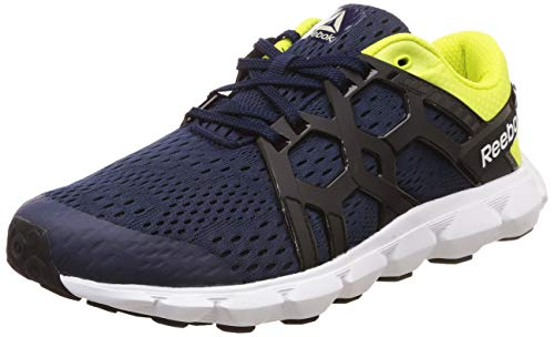 Reebok Men's Gusto Run Xtreme Lp Collegiate Navy/Green Shoes-8 UK/India (42 EU)(9 US) (DV7835)
