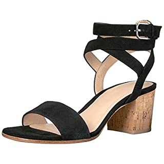 Pour La Victoire Women's Amana Dress Sandal, Black, 6.5 M US