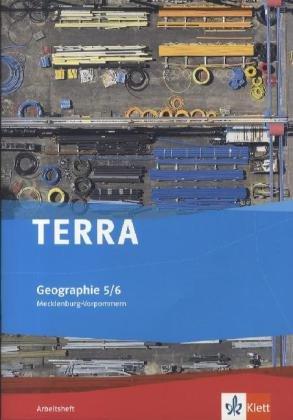 Preisvergleich Produktbild TERRA Geographie für Mecklenburg-Vorpommern - Ausgabe für die Orientierungsstufe / Arbeitsheft 5./6. Klasse