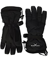 Black Crevice Guantes  Negro S