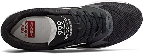 New Balance Lifestyle 999 unisex adulto, tela, sneaker bassa Nero
