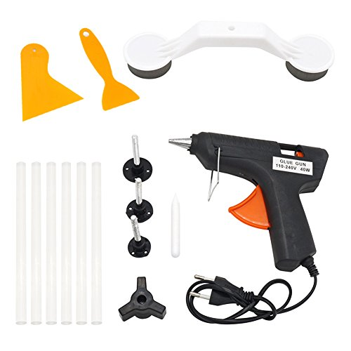 Tool Sets Forceful Professional Auto Body Car Paintless Dent Repair Puller Tabs Set Hail Damage Removal Tools Kit Hand Tool Set Superior Performance