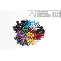 Puig 0258N Blister 6 Tornillos, M6, 30 mm, Color Negro