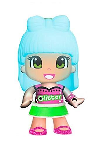 FAMOSA. Pinypon Colori Magici Glitter Mini Bambola Figures Capelli Cambiano Colore