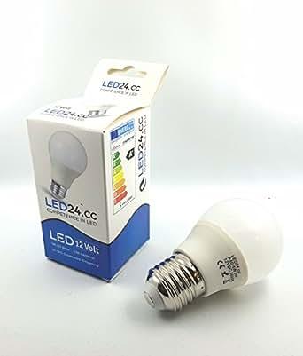 12 dc volt 12v e27 led birne 5w warmwei 400 lumen gl hbirne leuchtmittel beleuchtung. Black Bedroom Furniture Sets. Home Design Ideas