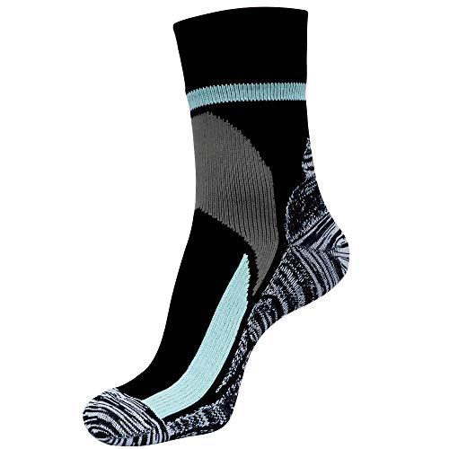 ArcticDry Xtreme 100% Wasserdichte Socken für Männer, Frauen & Kinder – Nylon, Spandex & Coolmax Wasserdichtes Material – Perfekt zum Radfahren, Wandern, Rudern, Angeln & Mehr! (Medium)
