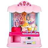 COSTWAY Spielautomat Süßigkeiten Automat Candy Grabber Greifautomat Greifmaschine 33,5*21*37cm mit USB Kabel
