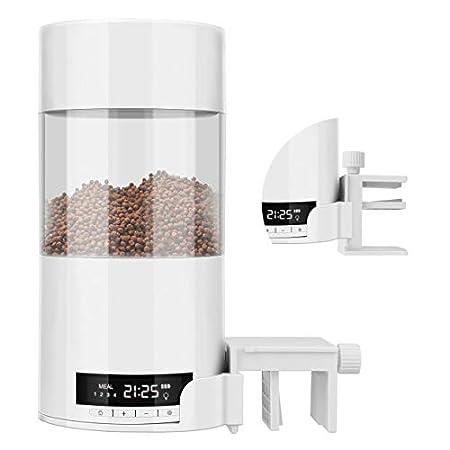 Keebgyy Futterautomat für Fischfutter Automatisierte Futterspender Fischfutter Multifunktionsfisch