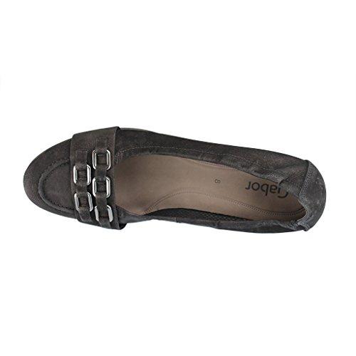 GABOR SHOES GABOR 25,401,17 Pompe delle donne - scarpe in oversize Nero (nero)