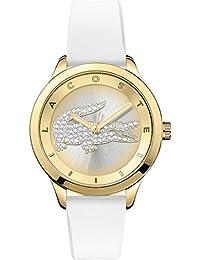 Lacoste Damen-Armbanduhr VICTORIA Small Analog Quarz Silikon 2000916