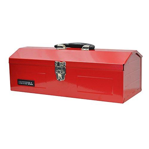 Faithfull TBB19 Werkzeugbox aus Metall, Scheunenform, 48cm