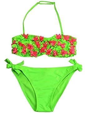 Bikini Bambina ,1pc Cime + 1pc Slip , feiXIANG® Sexy Toddler bambino bambini ragazze Solid Costumi da bagno bambino...
