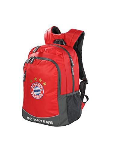 FC Bayern München Rucksack rot / Schulrucksack für Kinder und Jugendliche