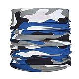 Bandana Top,Bandana Face,Mode Multifunktionale Sonnencreme Headwear Headwrap Maske Schal Halswärmer für Männer Frauen Camping Klettern Wandern Radfahren Outdoor Stil B
