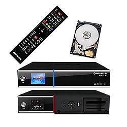 GigaBlue UHD UE 4K SAT TV Linux Receiver 2X DVB-S2 FBC Twin Tuner 4X Pip CI SmartCard Streaming Ultra HD 2 TB Festplatte