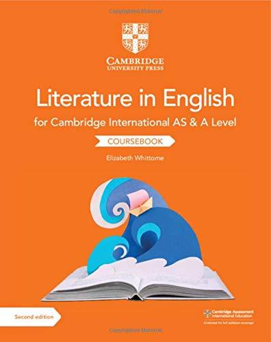 Cambridge International AS & A Level Literature in English Coursebook
