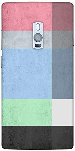 Snoogg Palette Designer Protective Back Case Cover For One Plus (Palette Designer)