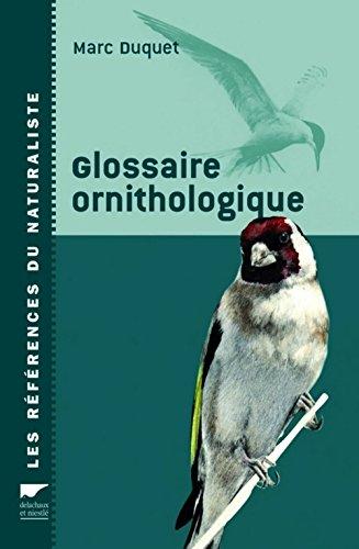 Glossaire ornithologique