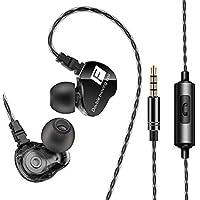 AUNEK Altavoz Dual Deportivos Gaming Auriculares con microfono, Internos con Sonido Puro y Graves Profundos