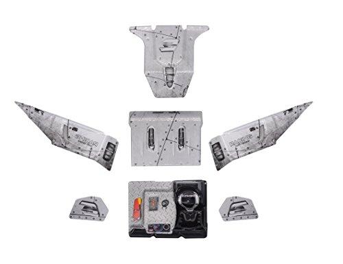 KELIWOW Eagle-3 Body Shell Stücke RC Auto-Shell-Teile FY-CM03 (Silber) (Shell Lkw)