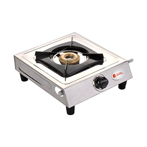 Surya Shining Flame Classic Stainless Steel 1 Burner Gas Stoves. (One Burner).  available at amazon for Rs.999