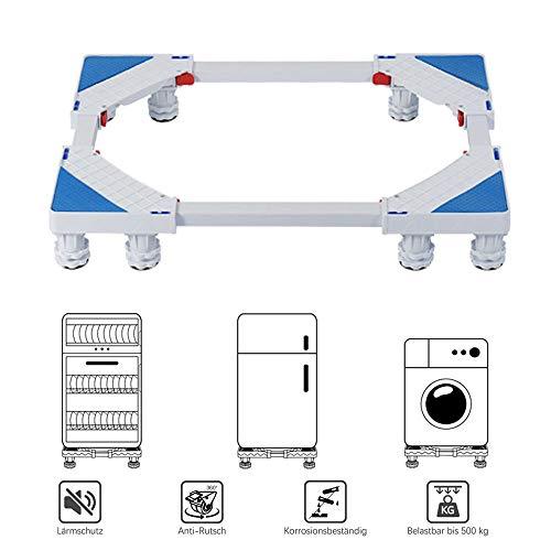 Augmenter Le Tambour Machine à Laver réfrigérateur climatisation Roue Universelle Mobile réglable Base de l'appareil, Portant 500 kg