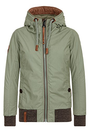 Naketano Female Jacket Schnipp schnapp Pimmel ab Salbei, L