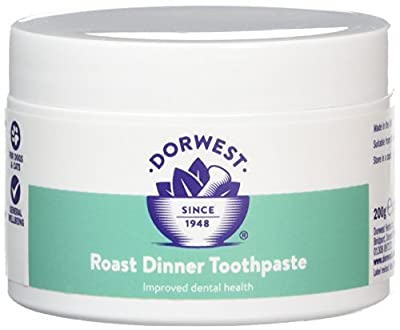DORWEST HERBS Roast Dinner Toothpaste for Dogs 200g by Dorwest Herbs