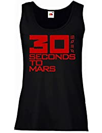 "Débardeur Femme ""30 Seconds To Mars"" - 100% coton LaMAGLIERIA"