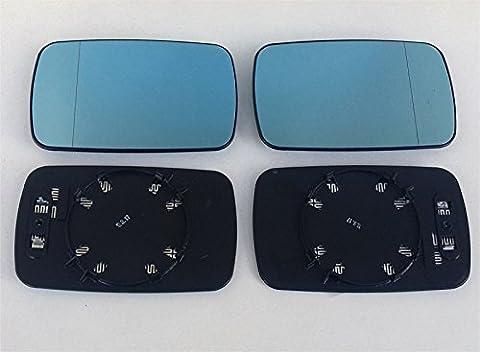 Verre Miroir droite + gauche pour BMW Série 3(E46) Limousine