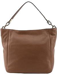 Michael Kors Fulton Slouch Shoulder Bag - Luggage